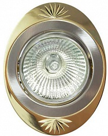 Feron Встраиваемый светильник DL250 титан-золото