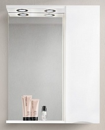 BelBagno Зеркало-шкаф MARINO-SPC-700/750-1A-BL-P-R Bianco Lucido