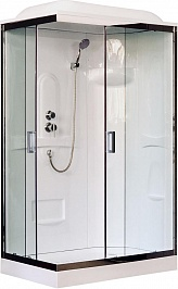 Royal Bath Душевая кабина RB 8120HP1-T-CH R (прозрачное стекло)