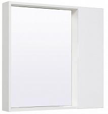 Runo Зеркало-шкаф для ванной Манхэттен 75 белый