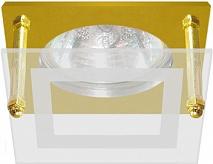 Feron Встраиваемый светильник BS3159-P2-9 золото