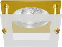 Feron Встраиваемый светильник BS3159-P2-12 золото