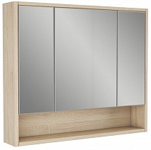 Alvaro Banos Зеркальный шкаф Toledo 90, дуб сонома