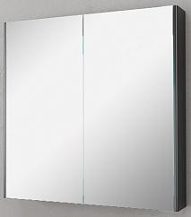 Velvex Зеркало-шкаф Klaufs 80 черный
