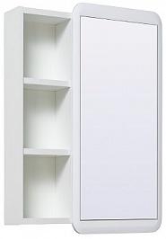 Runo Зеркальный шкаф Капри 55 белый