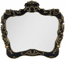 Demax Зеркало для ванной Афины 92 черное/золото