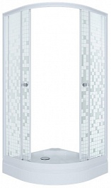 Triton  Душевой уголок Стандарт А мозаика 100x100