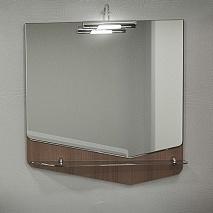 Velvex Зеркало Crystal Cub 70 темный лен