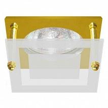 Feron Встраиваемый светильник BS3159-P2-10 золото