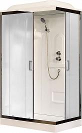 Royal Bath Душевая кабина RB 8120HP1-M-CH L (матовое стекло)