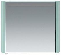 Am.Pm Зеркальный шкаф Sensation 80 R, с подсветкой, мятный