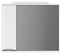 Am.Pm Зеркало-шкаф Like 80 L, белый глянец