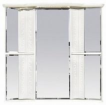 Misty Зеркальный шкаф Олимпия 60 R угловой белый