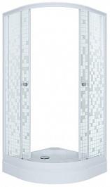 Triton  Душевой уголок Стандарт А мозаика 90x90