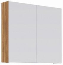 Aqwella Зеркало-шкаф для ванной МС 70 дуб сонома