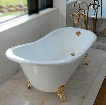 Magliezza Чугунная ванна Gracia 170x76 (ножки золото)