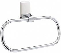 WasserKRAFT Держатель полотенец кольцо Leine K-5060WHITE