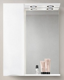 BelBagno Зеркало-шкаф MARINO-SPC-700/750-1A-BL-P-L Bianco Lucido