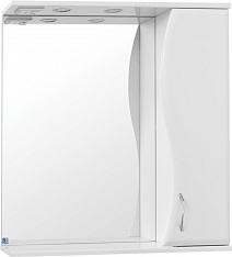 Style Line Зеркальный шкаф Панда 600/С Волна