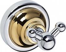 Bemeta Крючок двойной Retro gold and chrom 144206038