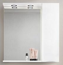 BelBagno Зеркало-шкаф MARINO-SPC-900/750-1A-BL-P-R Bianco Lucido