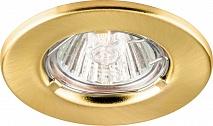 Feron Светильник DL7 потолочный MR16 G4.0 золото