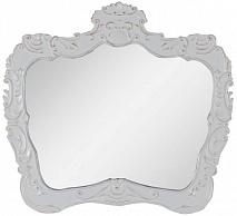 "Demax Зеркало для ванной ""Афины 92"" белое ретро"