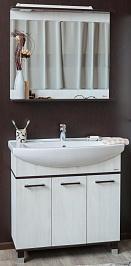 Sanflor Мебель для ванной Толедо 105 венге, северное дерево светлое