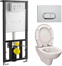 Vitra Комплект: S20 9004В003-7202 кнопка хром